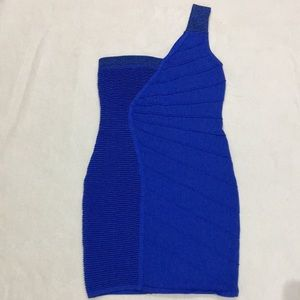 WOW COUTURE bandage one shoulder, dress, S…